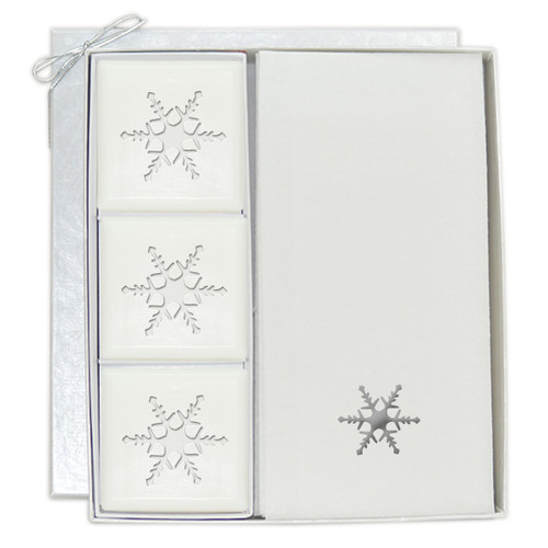 Signature Spa Courtesy Gift Set - Silver Snowflake