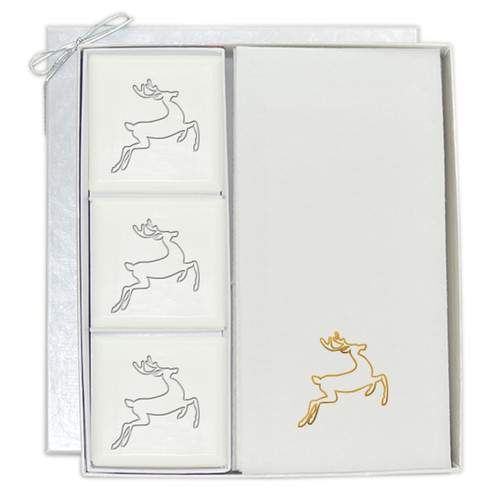 Signature Spa Courtesy Gift Set - Gold Deer