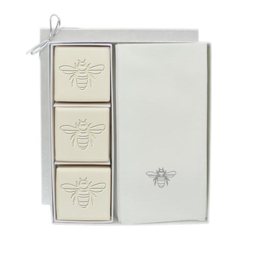 Eco-Luxury Courtesy Gift Set - Silver Bee