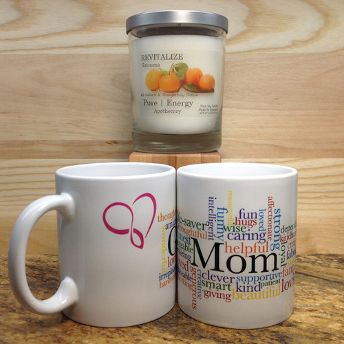 3 Case Pack Pure Energy Apothecary Satsuma Candle and Mom Mug Set