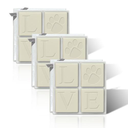 Eco-Luxury Mi-Luxe - Love Paw (Set of 3)