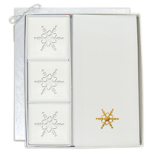 Signature Spa Courtesy Gift Set - Gold Snowflake