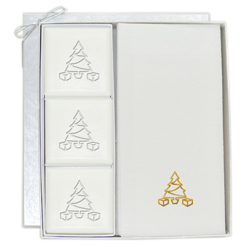 Signature Spa Courtesy Gift Set - Gold Christmas Tree