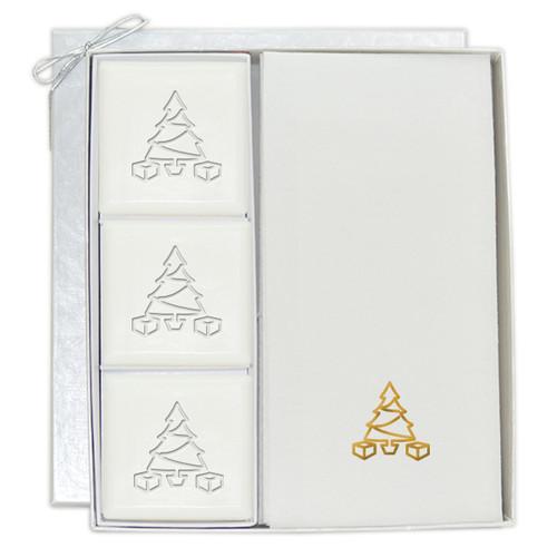Signature Spa Courtesy Gift Set - Gold Christmas Tree