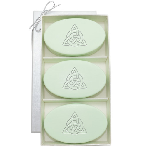 Signature Spa Trio - Green Tea & Bergamot: Personalized with Celtic Knot
