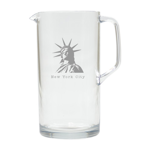 AMERICAN LANDMARK PITCHER  (Unbreakable)