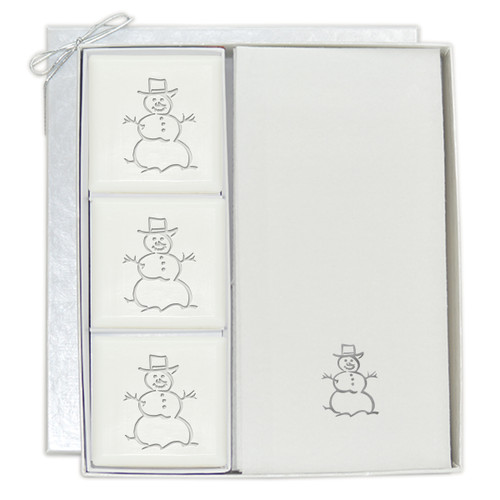 Signature Spa Courtesy Gift Set - Silver Snowman