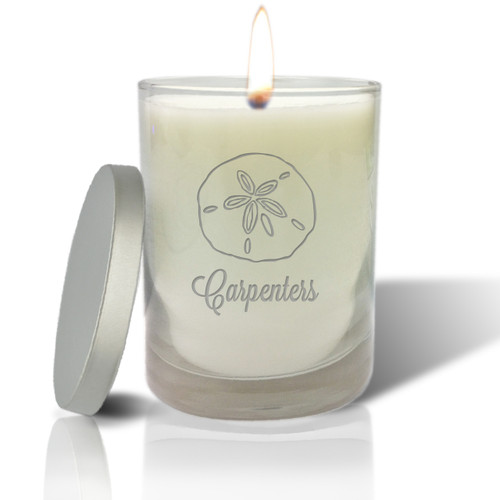 Soy Glass Candle - Sand Dollar