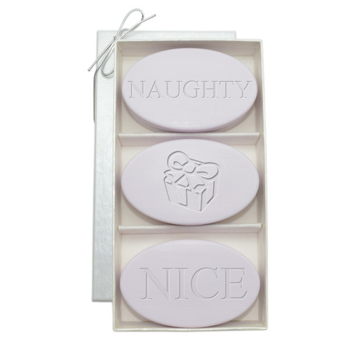 Signature Spa Trio - Lavender: Personalized Naughty Or Nice