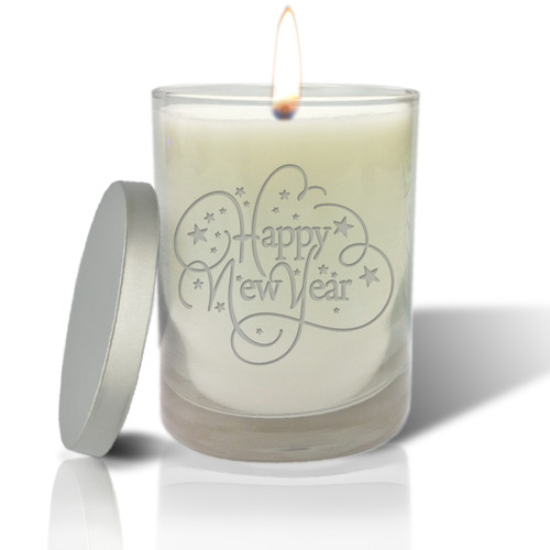 Soy Glass Candle - Happy New Year