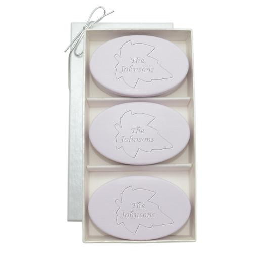 Signature Spa Trio - Lavender: Personalized Leaf