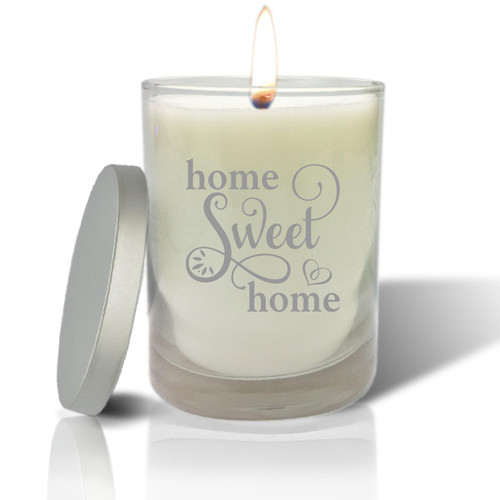 Soy Glass Candle - Home Sweet Home