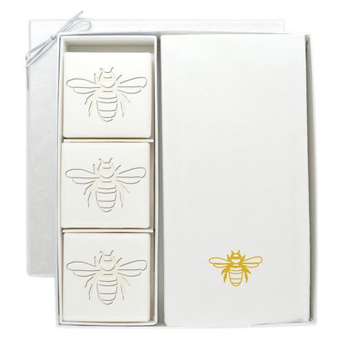 Signature Spa Courtesy Gift Set - Gold Bee