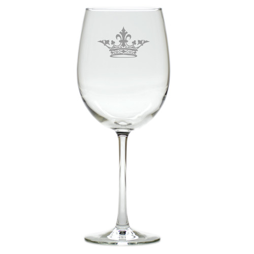 CROWN WINE STEMWARE - SET OF 4 (GLASS)