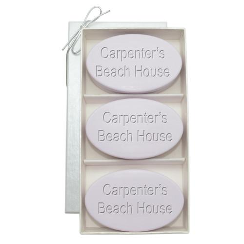 Signature Spa Trio - Lavender: Personalized Beach House