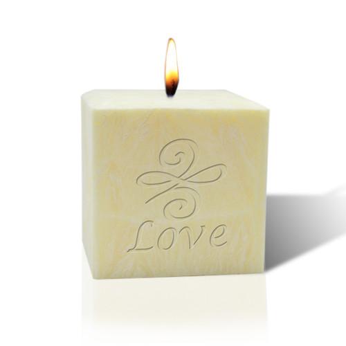 "3"" Pure Aromatherapy Palm Wax Candle - Love Knot"