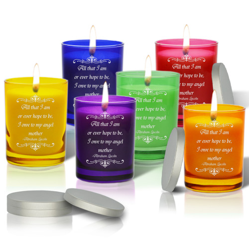 Gem Collection Soy Glass Candle - Angel Mother