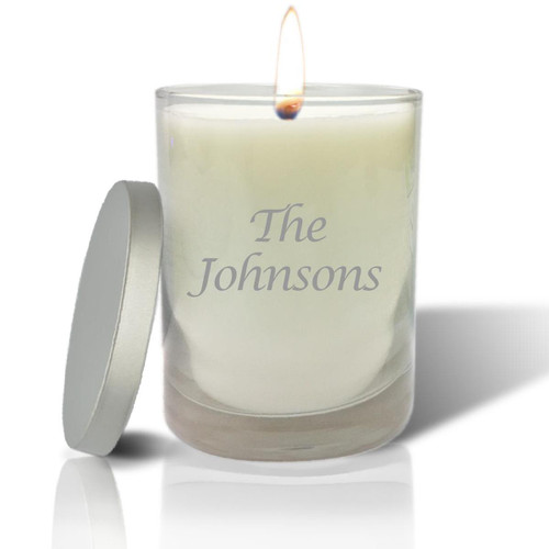Soy Glass Candle - Name or Phrase