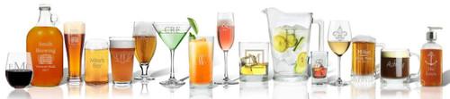 Personalized US Made Fine Glassware Program (CSGSPOP)