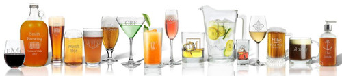 Personalized US Made Fine Glassware Program (CSGSPOP)