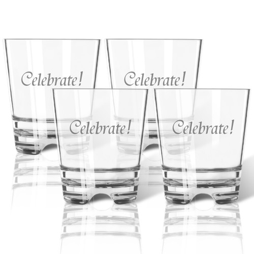 CELEBRATE! OLD FASHIONED - SET OF 4 (Tritan Unbreakable)