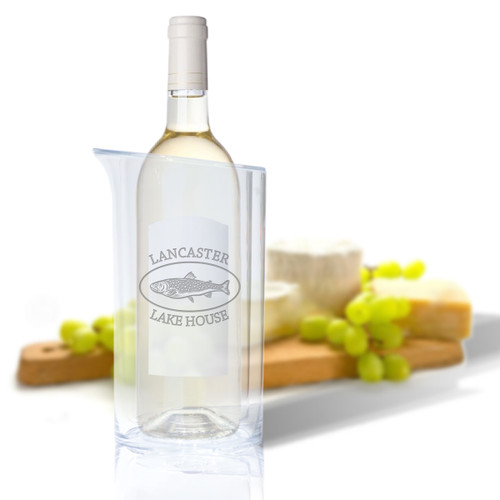 Personalized Iceless Wine Bottle Cooler - Trout Lake House