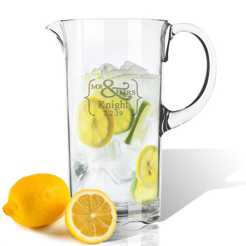 ICON PICKER Personalized Tritan Pitcher 55 oz  (Prime Design)