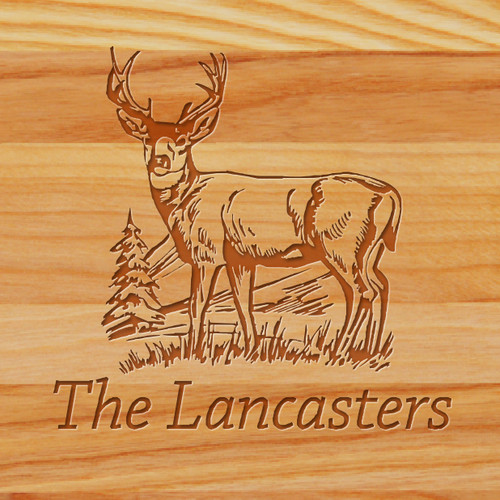 Cutting Board - Personalized (BuckHillSide)