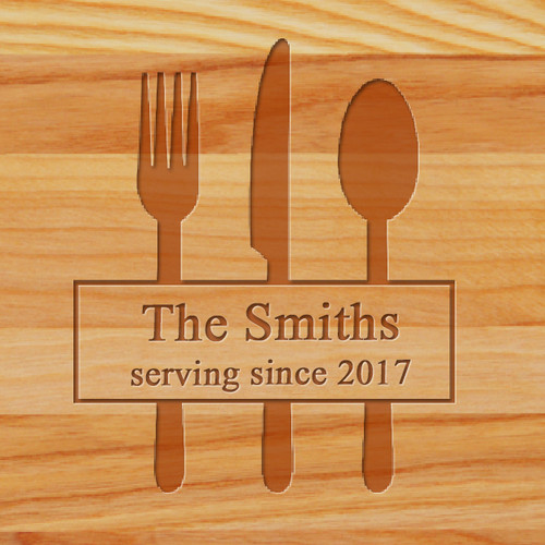 Cutting Board - Personalized (SERVING SINCE)