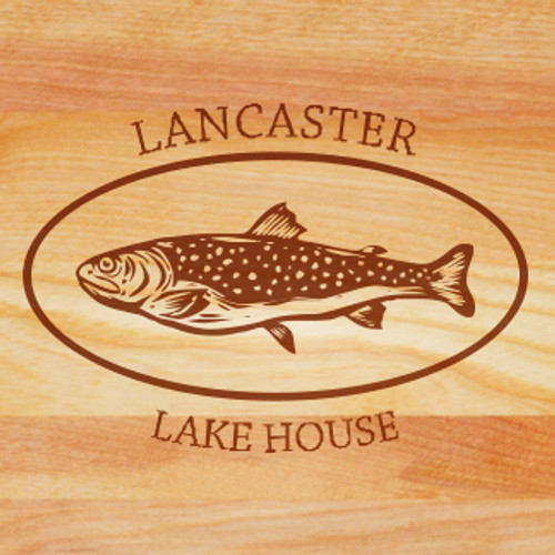 Cutting Board - Personalized (TROUT)