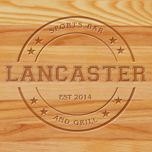Cutting Board - Personalized (Bar & Grill)