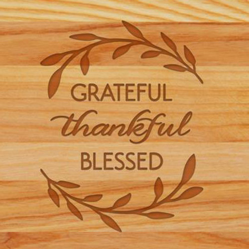 Cutting Board - Personalized (GRATEFUL BLESSED)