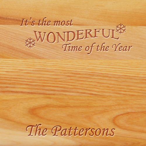 Cutting Board - Personalized (WONDERFUL TIME NAME)