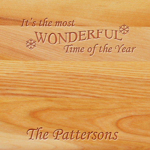 Cutting Board - Personalized (WONDERFUL TIME NAME)