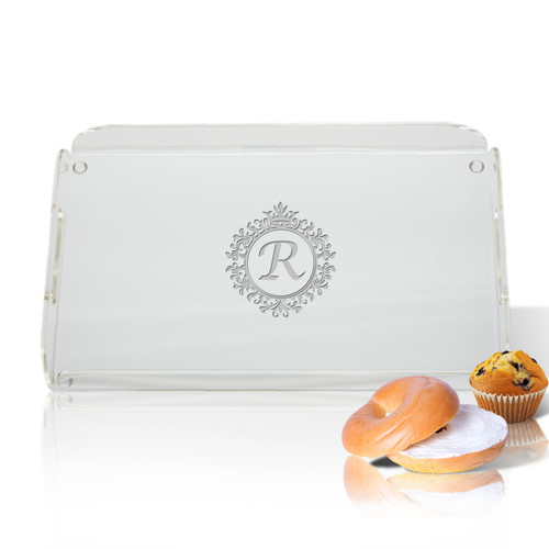 Personalized Acrylic Serving Tray (ICON PICKER)(Prime Design)(Initial/Monogram Prime Design)