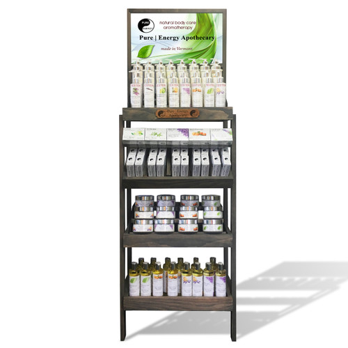 Pure|Energy Apothecary Isle Display