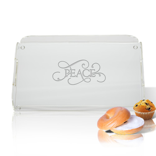 Personalized Acrylic Serving Tray (ICON PICKER)(Prime Design)(Common Sayings)