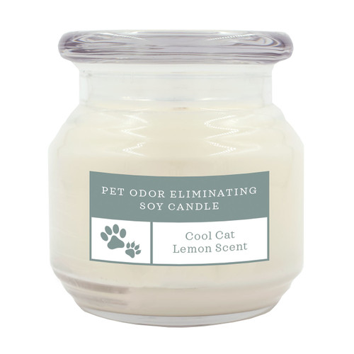 Pet Odor Eliminating Candle Cool Cat