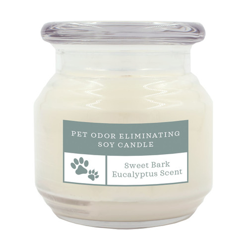 Pet Odor Eliminating Candle Sweet Bark