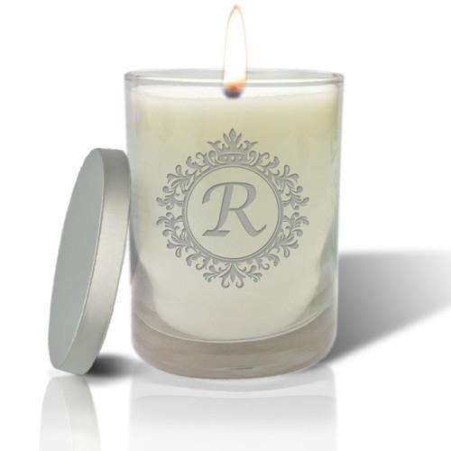 Soy Glass Candle - ICON PICKER (PRIME DESIGN)(INITIAL / MONO)