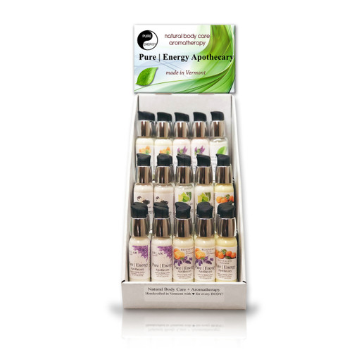 PURE|ENERGY APOTHECARY TRAVEL SIZE DISPLAY