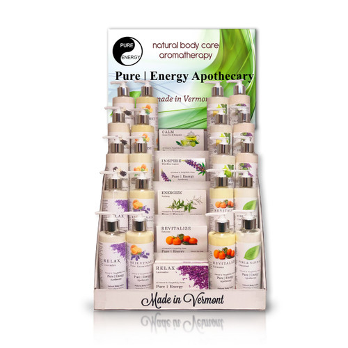 PURE|ENERGY APOTHECARY INTRODUCTORY DISPLAY
