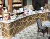 56 pieces of quarter scale French pastries for C'est La Vie café