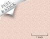 Bird's Nest, Pink. 1:48 quarter scale peel and stick wallpaper