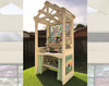 dollhouse miniature potting bench kit