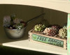 1:12 succulents crate miniature kit