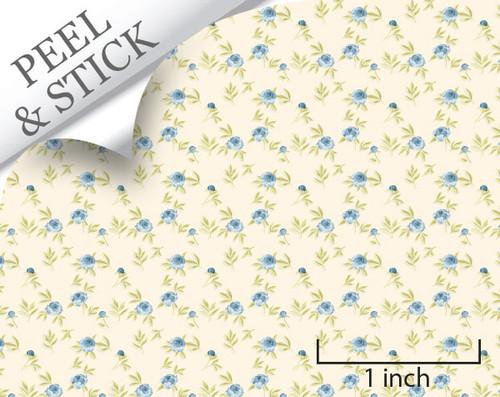 1:48 Blooming Blue Wallpaper