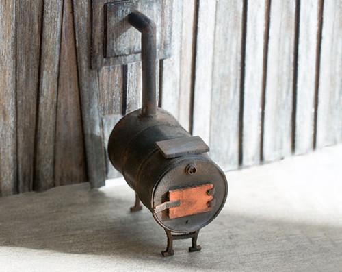 Quarter scale potbelly stove kit