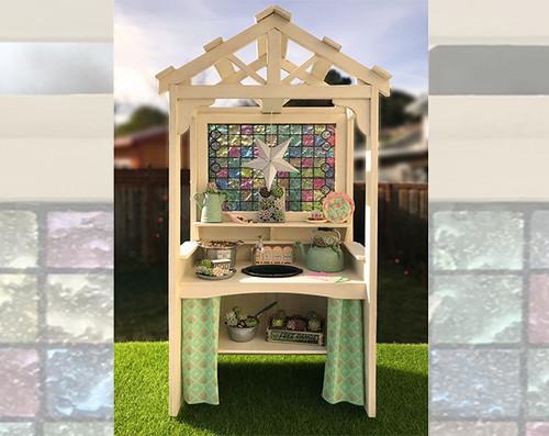 "1"" scale potting bench kit"