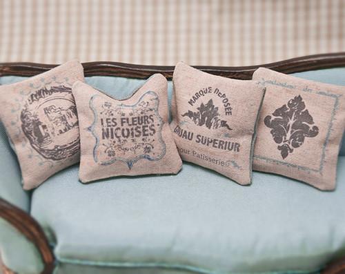French Blue Pillows Kit